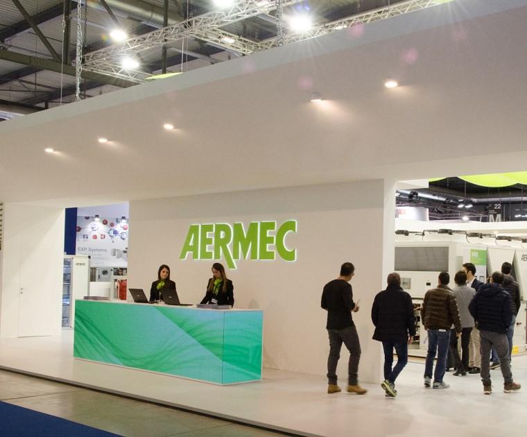 AERMEC AUF DER MCE 2018